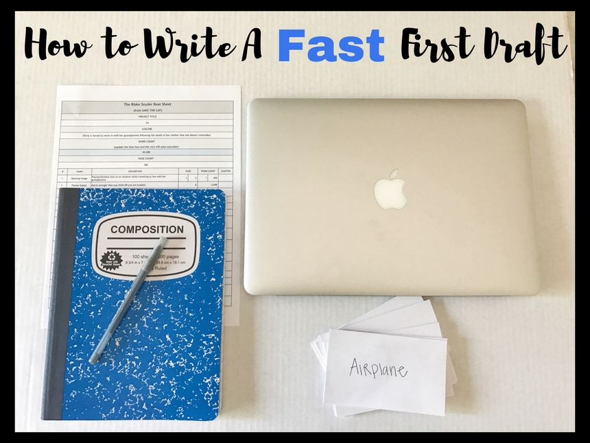 how to write content fast