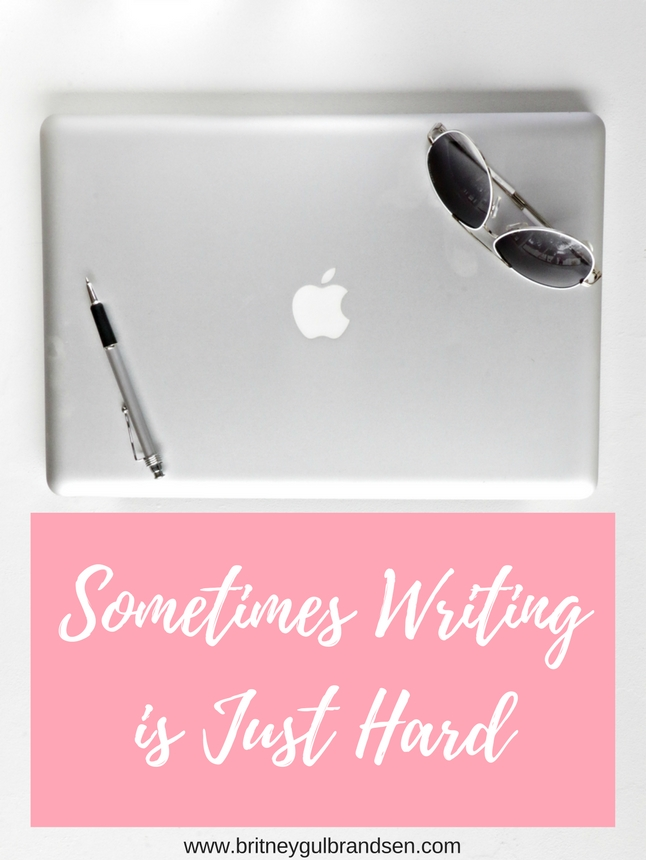And that's okay. Here's what to do when writing gets tough.