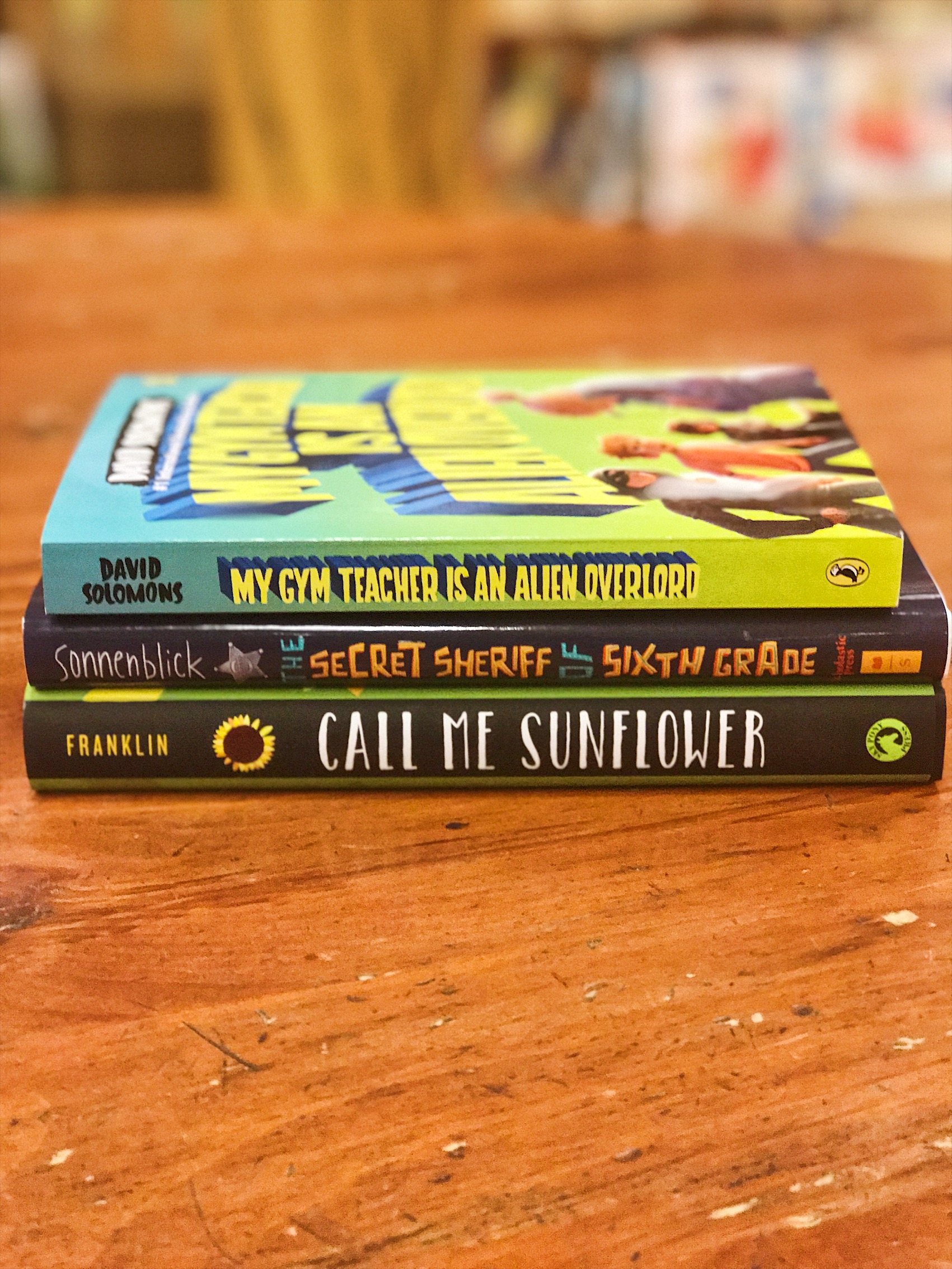 Middle Grade Book Hook Battle Stack September 2017